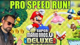 Super Mario Bros Deluxe - Pro Speed Run
