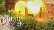 Explosion im Fürstenhof - Sturm der Liebe - Spannende Momente