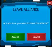 Alliance-leave