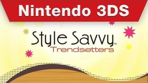 Nintendo 3DS - Style Savvy Trendsetters Trailer