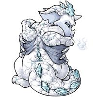 Magnus glacier