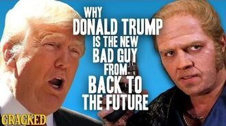 Why Donald Trump Is The New Bad Guy From Back To The Future