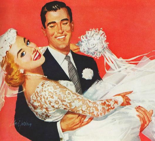 File:Wedding groom carry bride 1950s.png