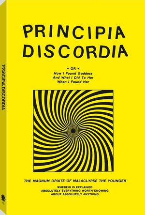 Principia Discordia yellow cover