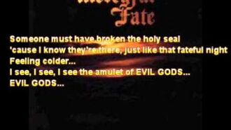 "Mercyful Fate ""The Mad Arab part 2"" Subtitles Lyrics"