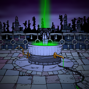 Karmic fountain