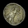 Ancient coin detail