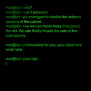Murtaugh message sub6 2