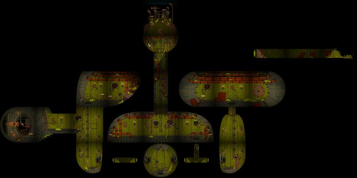 Captain's ship map