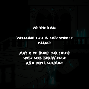 Winter Palace welcome note
