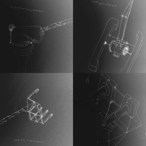 Composite of the four sketches.