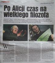 Mateusz Skutnik上报纸