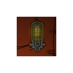 This is the standard lamp of the Root. It's similar to the lighthouse's lamp.