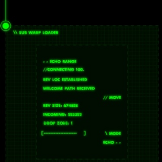 The first version of the sub warp loader, which used to display information about each location's file size.