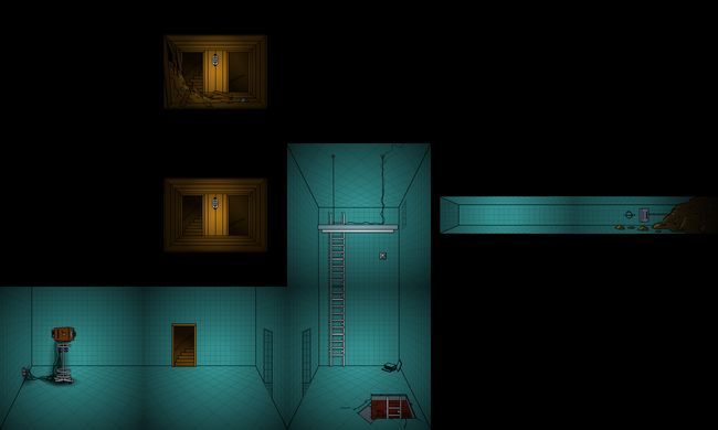 Lighthouse basement map