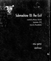 Submachine 10 Menu