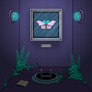 Watercolor moth