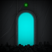 The portal door in the metal section. & Portal door | Submachine Wiki | FANDOM powered by Wikia