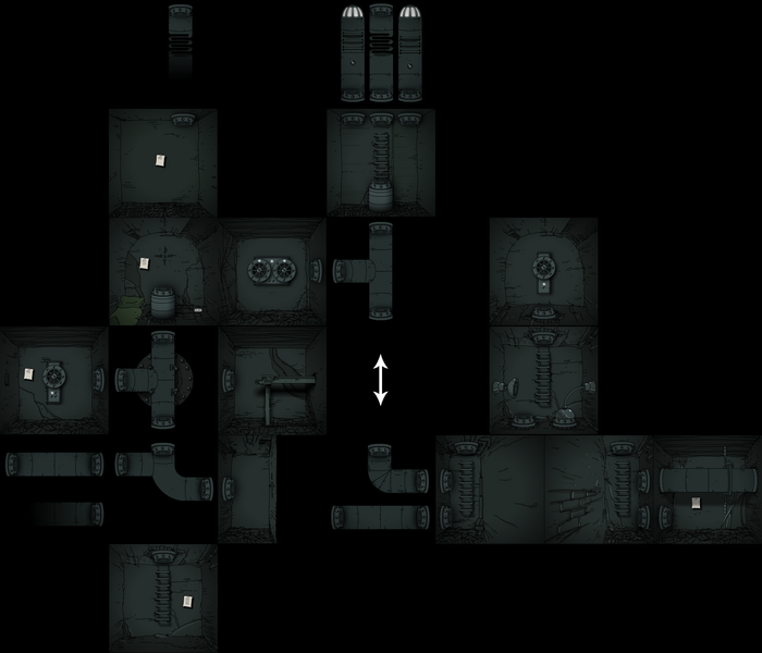 Tunnels map