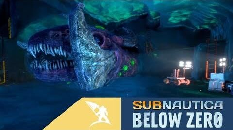 Subnautica Below Zero Ice Worm Update