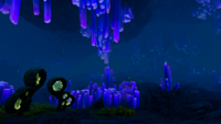 Crystal Caves Biome