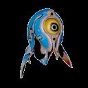 Blue Trivalve Icon