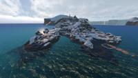 Rocket Island Biome