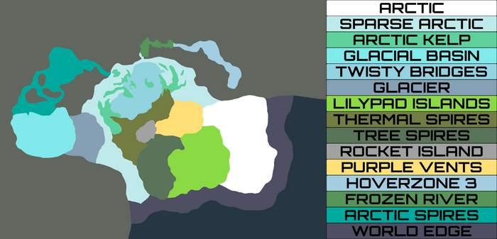 Subnautica Karte Insel.Sector Zero Map Subnautica Below Zero Fandom Powered By Wikia