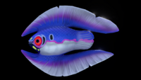 Feather Fish Side View