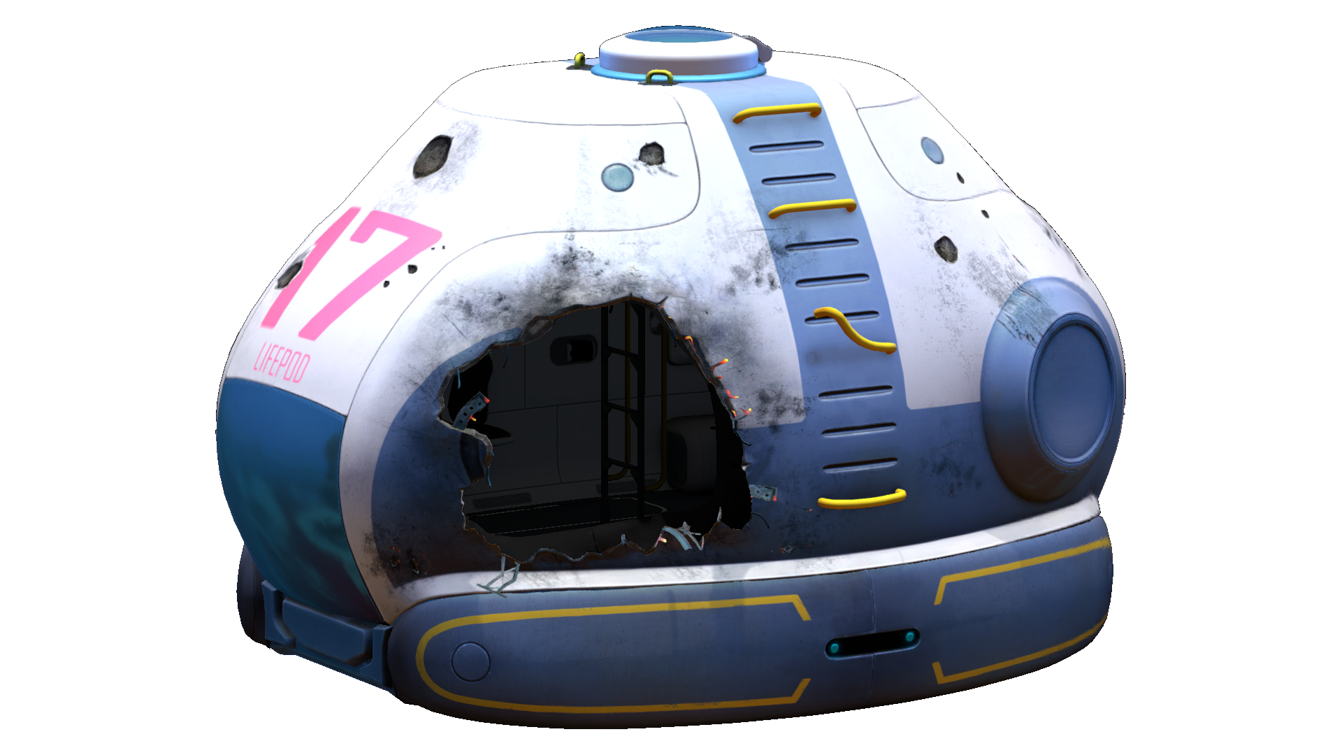Destroyed Lifepods | Subnautica Wiki | FANDOM powered by Wikia