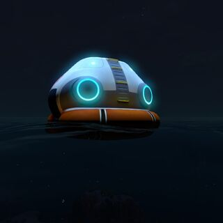 The Escape Pod at Night