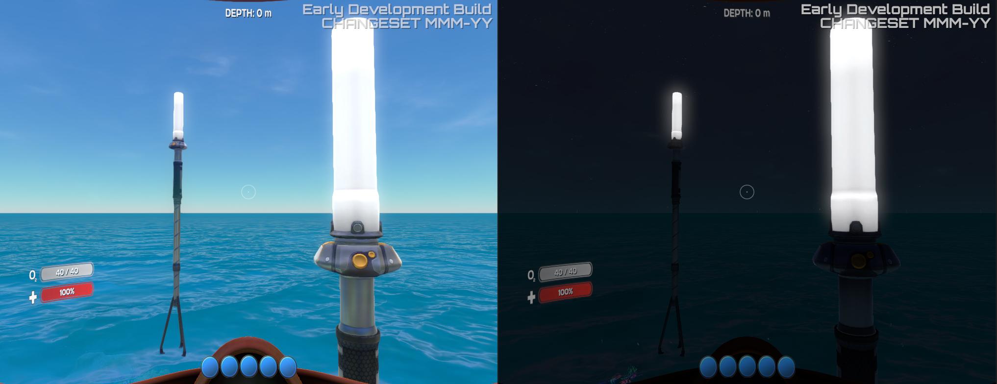 LED Light in game