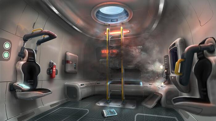 EscapePod Interior Damaged LowRes