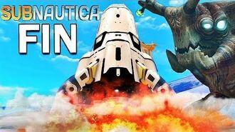 LA FIN DU JEU ! Subnautica !