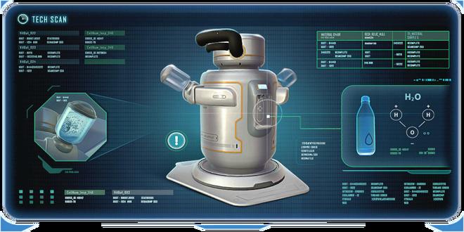 Water Filtration Machine Data Bank Image