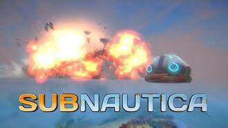 Subnautica Crash Site Introduction