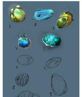 Eggs Concept Art