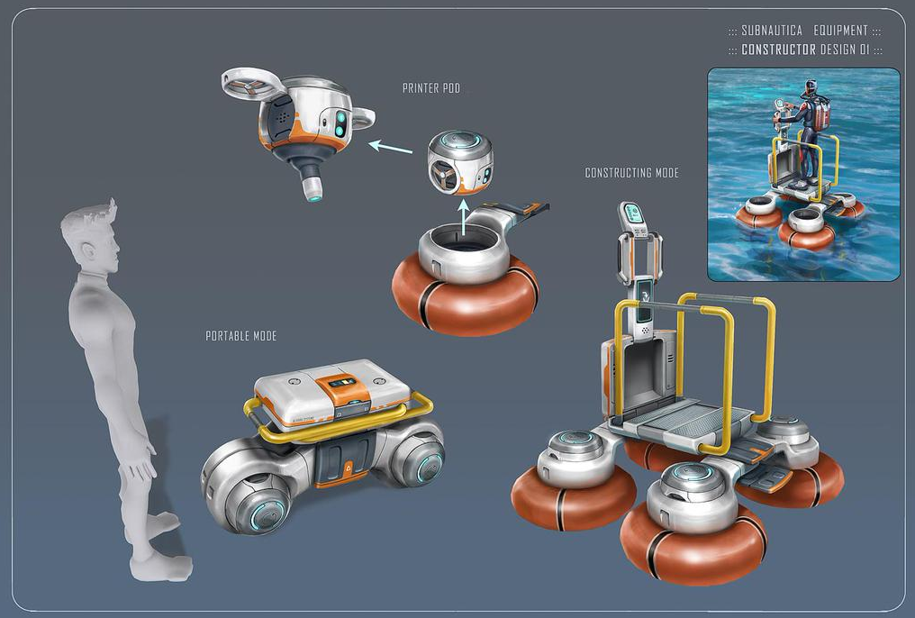 Image Constructorconcept Png Subnautica Wiki Fandom Powered By