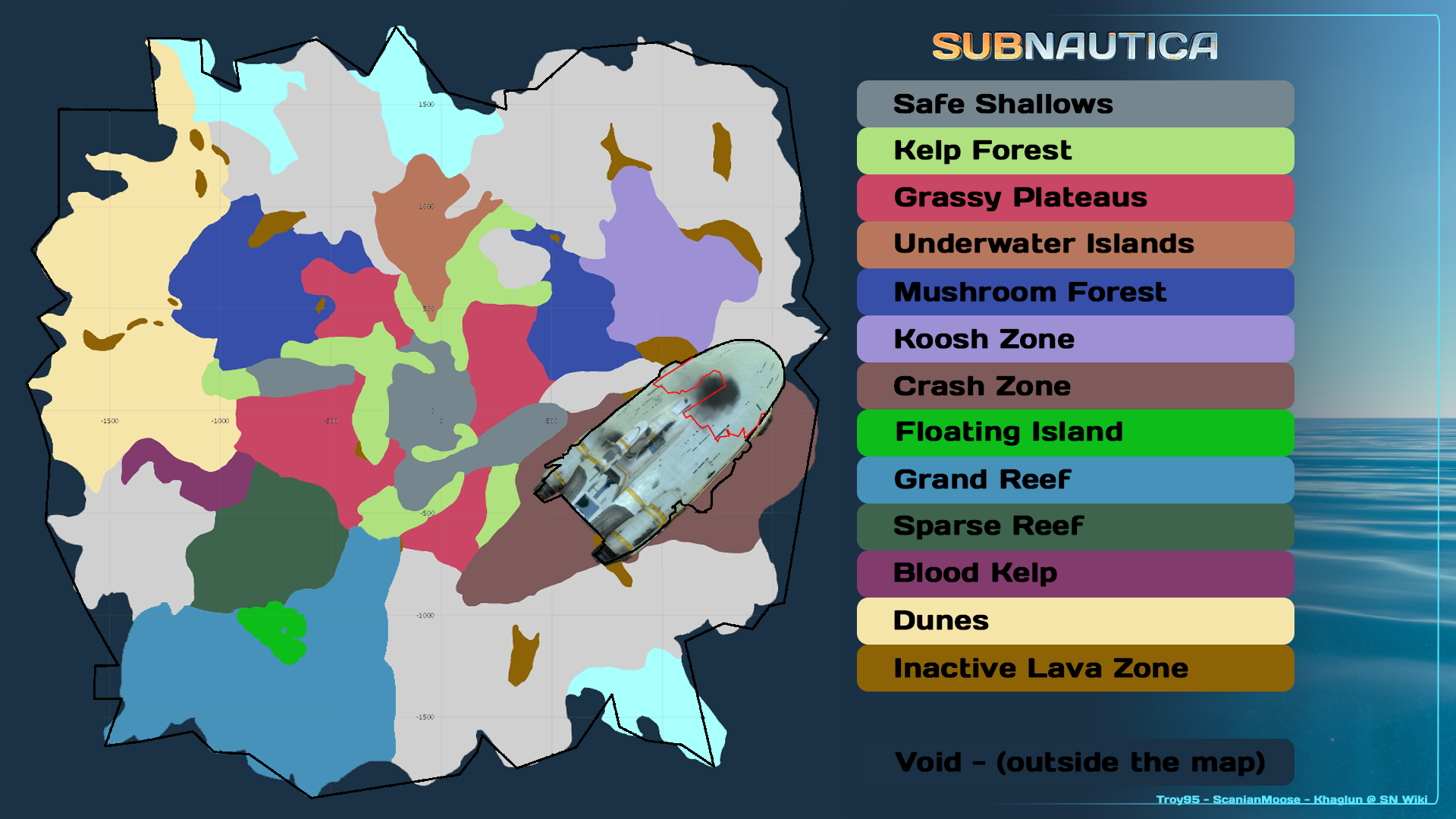 Image biome map 2g subnautica wiki fandom powered by wikia biome map 2g gumiabroncs Images