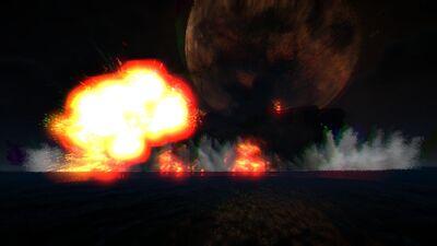 Exploding Aurora