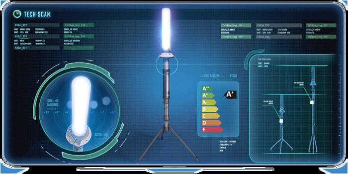 Светодиодный фонарь КПК