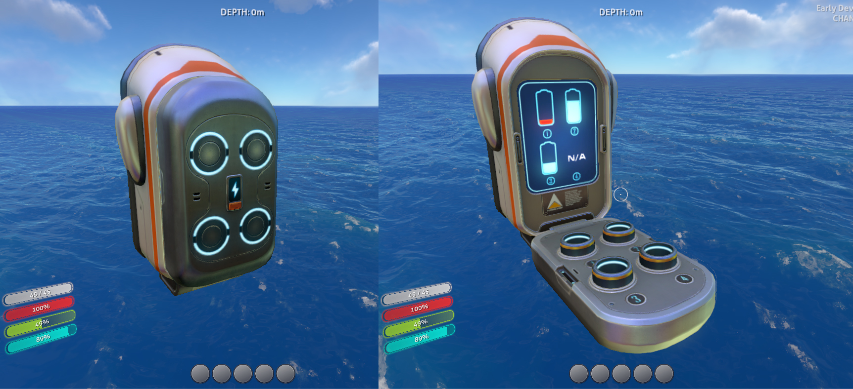 Battery charger subnautica wiki fandom powered by wikia malvernweather Image collections