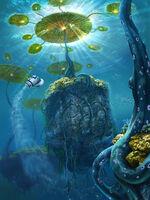 Concept-Art LilypadWaterIslands