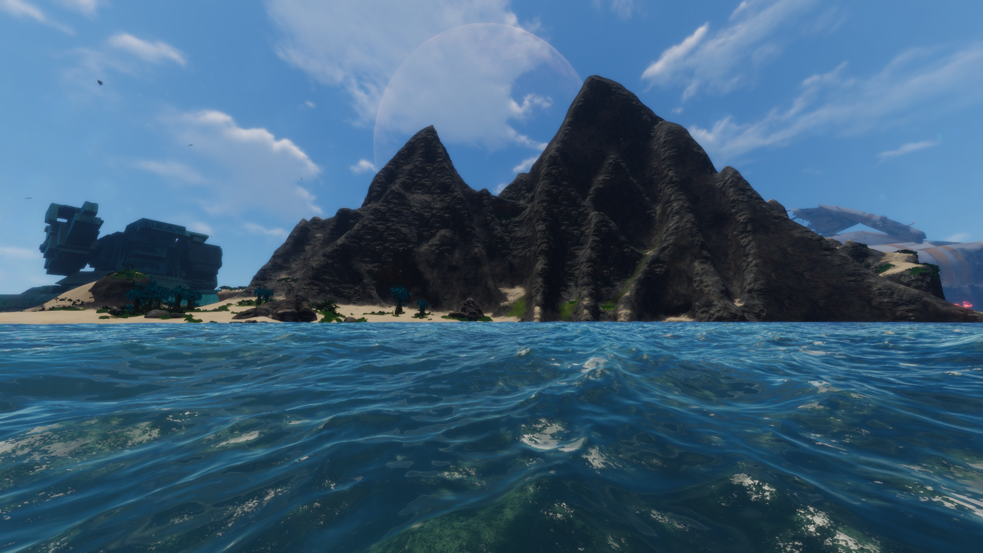 Subnautica Karte Insel.Mountain Island Subnautica Wikia Fandom Powered By Wikia