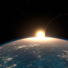 4546B desde el espacio.