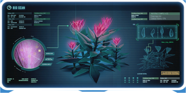 Voxel Shrub PDA Encyclopedia