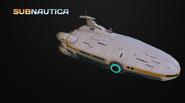 3D модель авроры