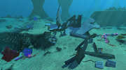 Grassy Plateaus Small Wreck 2