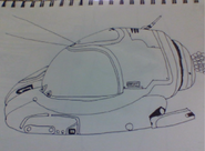 Seamoth Drawing