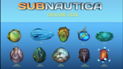 Creature eggs list